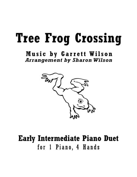 Tree Frog Crossing (1 Piano, 4 Hands Duet)