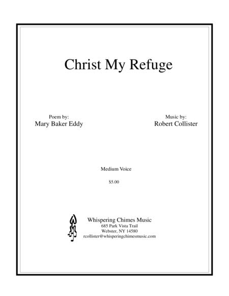Christ My Refuge medium voice