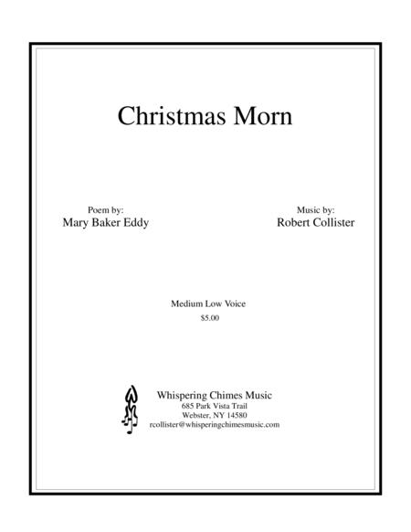 Christmas Morn medium low voice