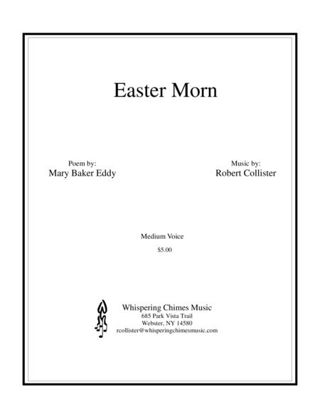 Easter Morn medium voice