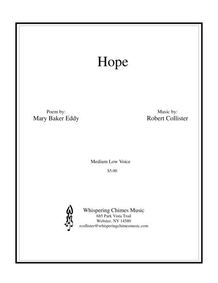 Hope medium low voice