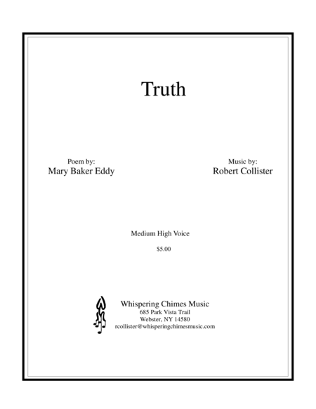 Truth medium high voice