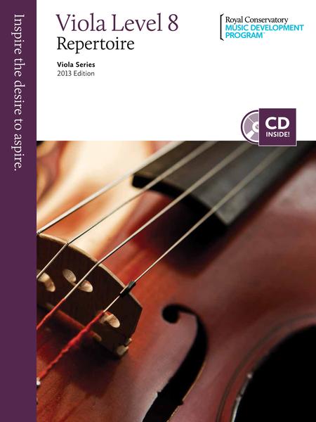 Viola Series: Viola Repertoire 8