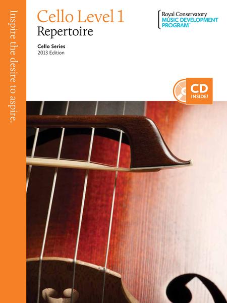 Cello Series: Cello Repertoire 1
