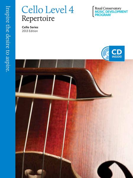 Cello Series: Cello Repertoire 4