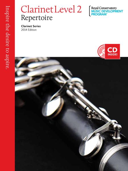 Clarinet Series: Clarinet Repertoire 2