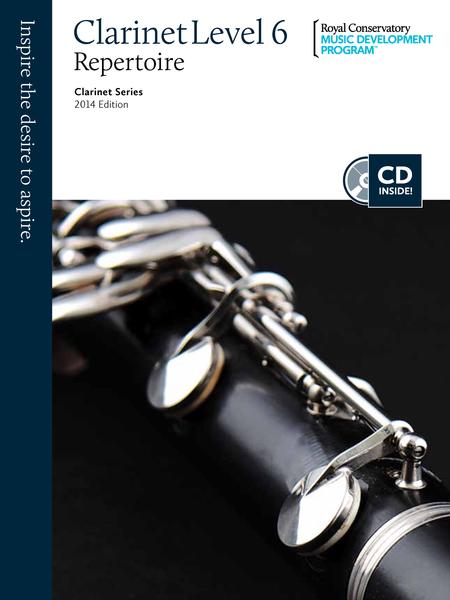 Clarinet Series: Clarinet Repertoire 6