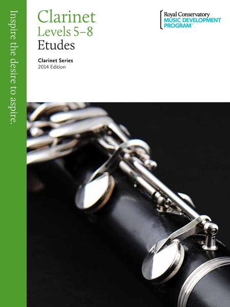 Clarinet Series: Clarinet Etudes 5-8