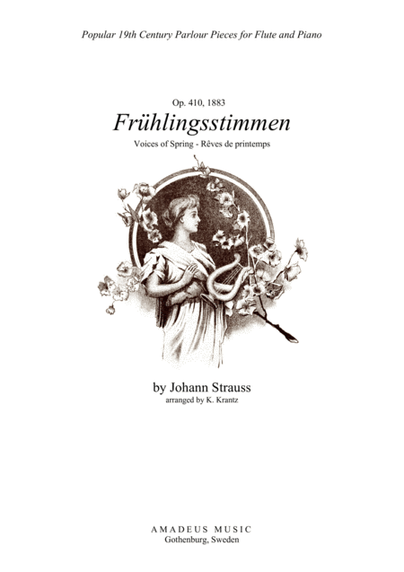 Fruhlingsstimmen / Voices of Spring for flute and piano