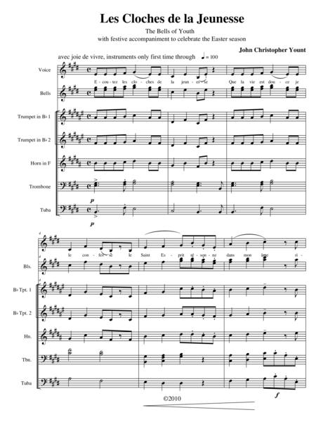 Les Cloches de la Jeunesse (bells, brass)