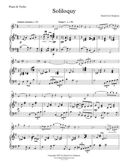 Soliloquy (Violin & Piano)