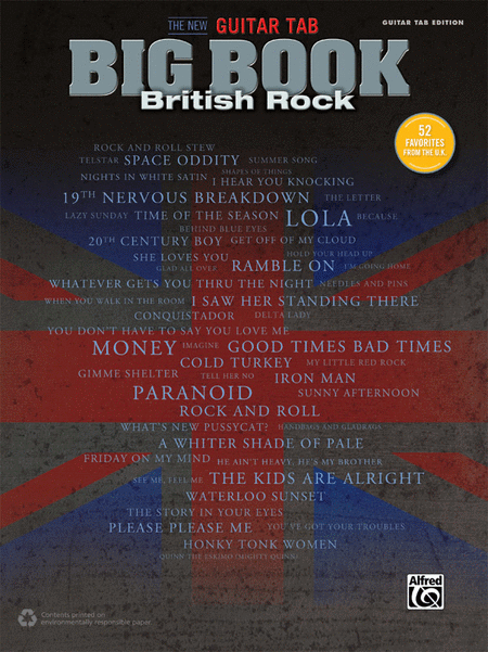 The New Guitar Big Book of Hits -- British Rock