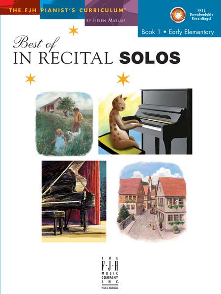 Best of In Recital Solos, Book 1 (NFMC)