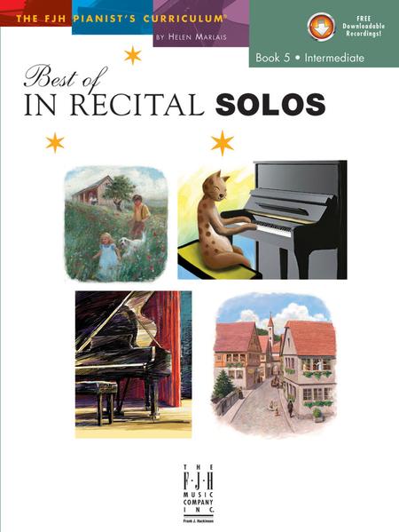 Best of In Recital Solos, Book 5 (NFMC)