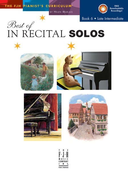 Best of In Recital Solos, Book 6 (NFMC)