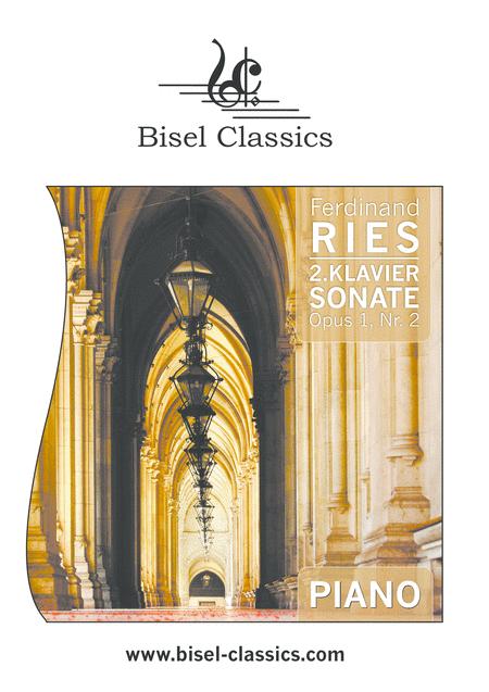 2. Klaviersonate, Opus 1, Nr. 2