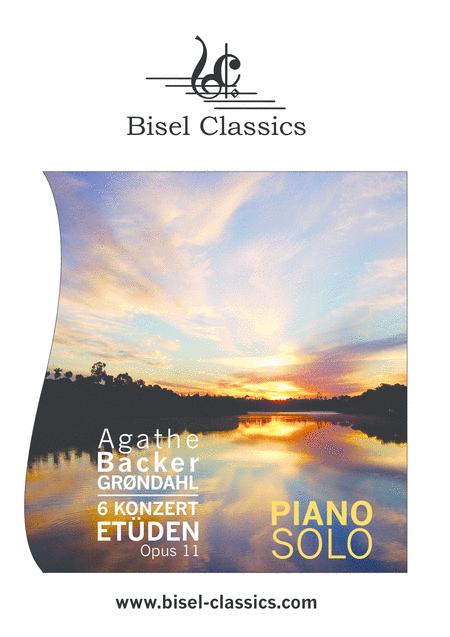 6 Konzert - Etuden, Opus 11