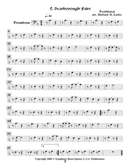 Legends & Tales of the Renaissance II (of Romance) - 2. Scarborough Faire (Trombone)