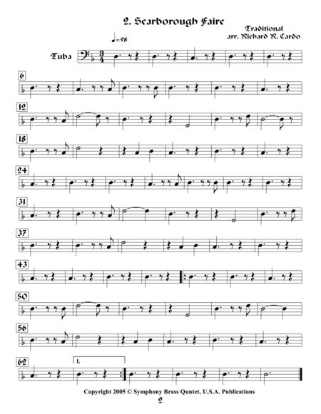 Legends & Tales of the Renaissance II (of Romance) - 2. Scarborough Faire (Tuba)