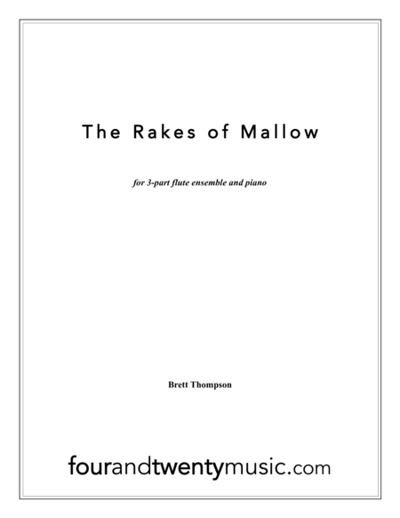 The rakes of mallow, for three flutes and piano
