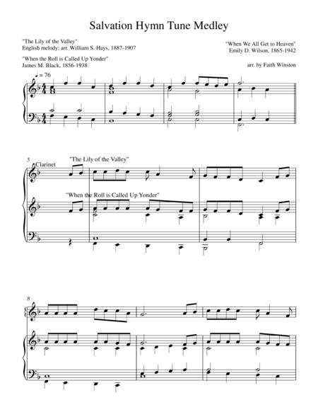 Salvation Hymn Tune Medley
