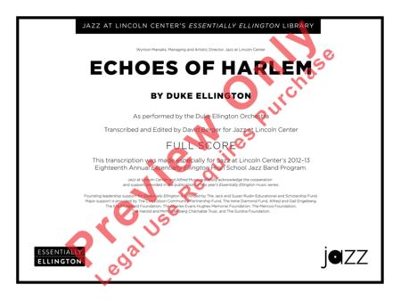 Echoes of Harlem