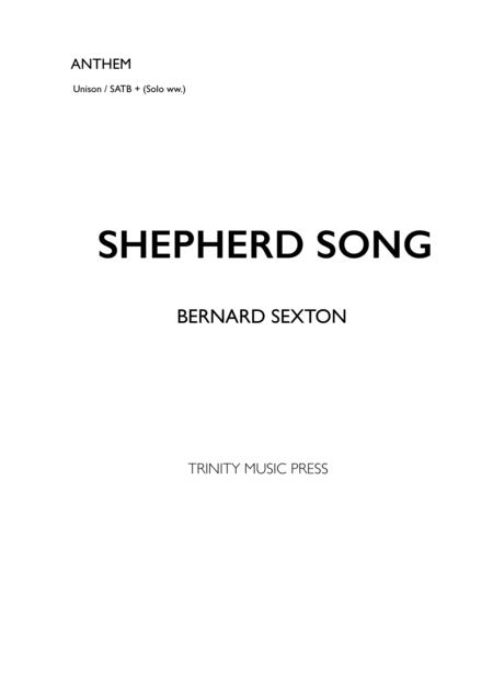 Shepherd Song  SATB