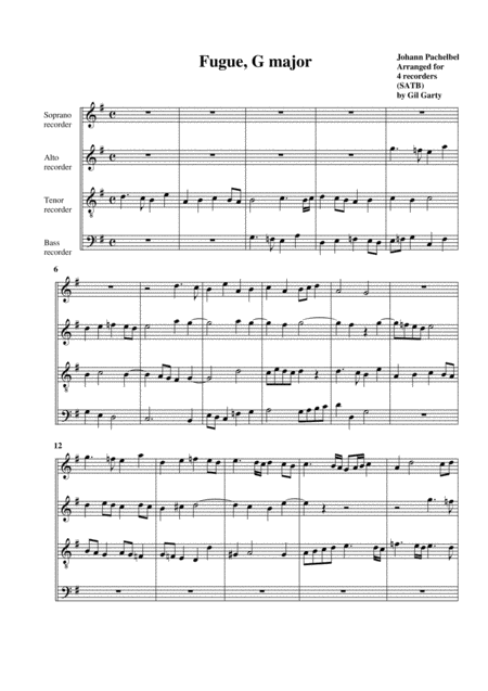 Fugue in G major
