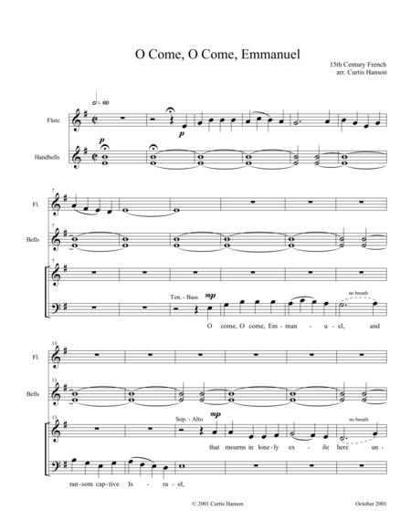 O Come, O Come, Emmanuel (SATB - setting 2)