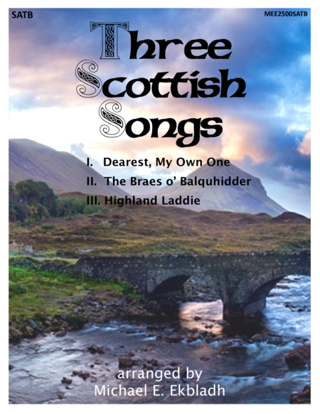 Three Scottish Songs (SATB)