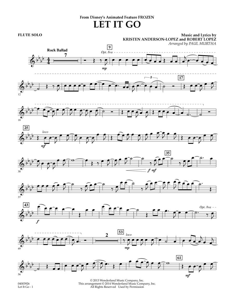 Let It Go - Flute Solo