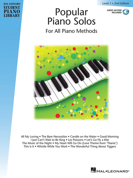 Popular Piano Solos 2nd Edition - Level 1