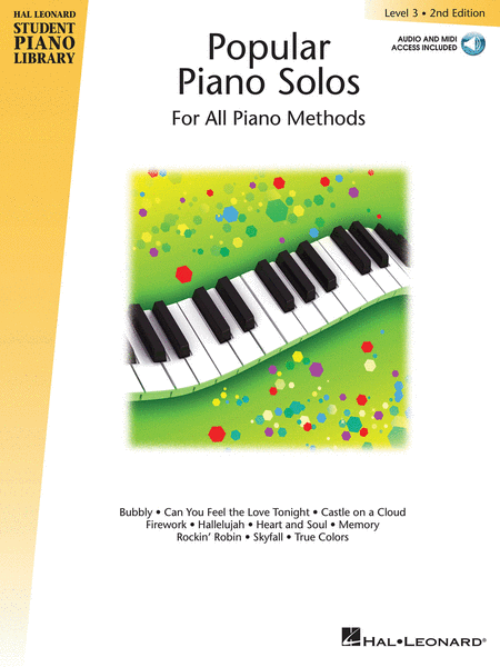 Popular Piano Solos 2nd Edition -¦Level 3