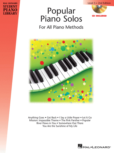 Popular Piano Solos - 2nd Edition - Level 5