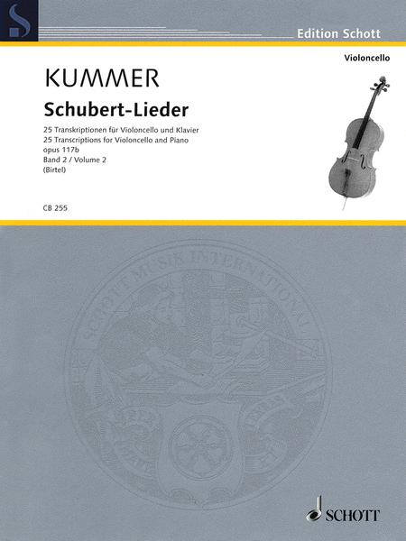 Schubert-Lieder Op. 117b