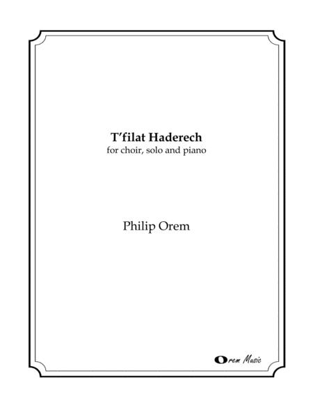 T'Filat Haderech