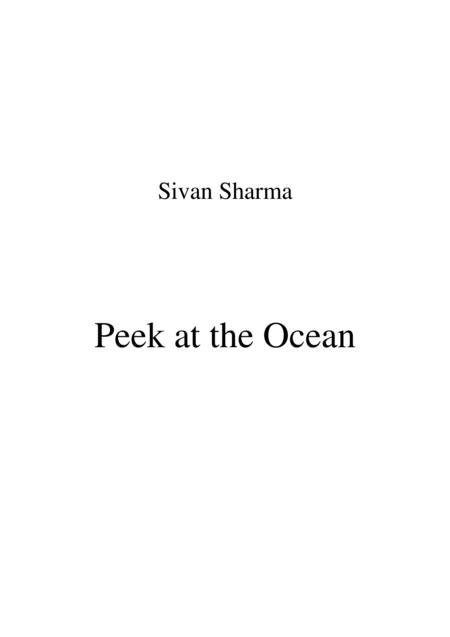 Peek at the Ocean