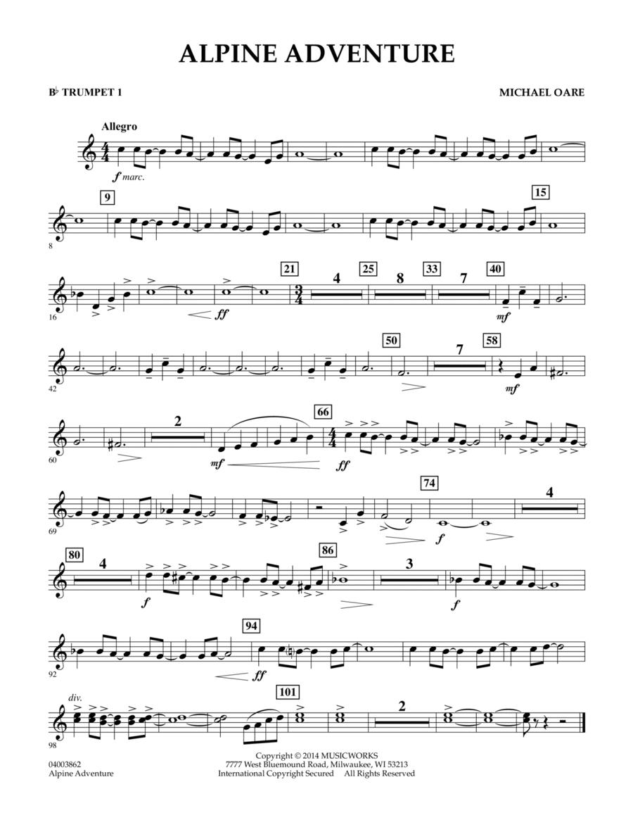 Alpine Adventure - Bb Trumpet 1