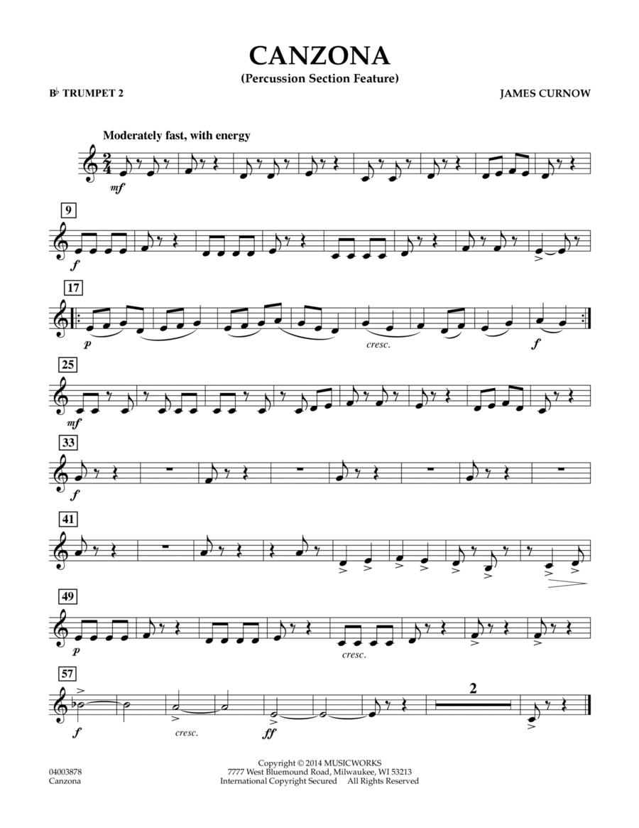 Canzona - Bb Trumpet 2