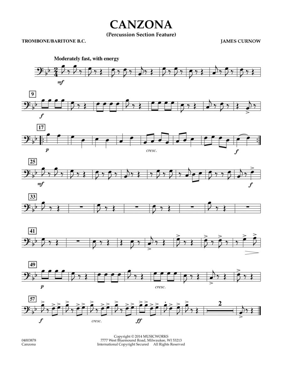 Canzona - Trombone/Baritone B.C.