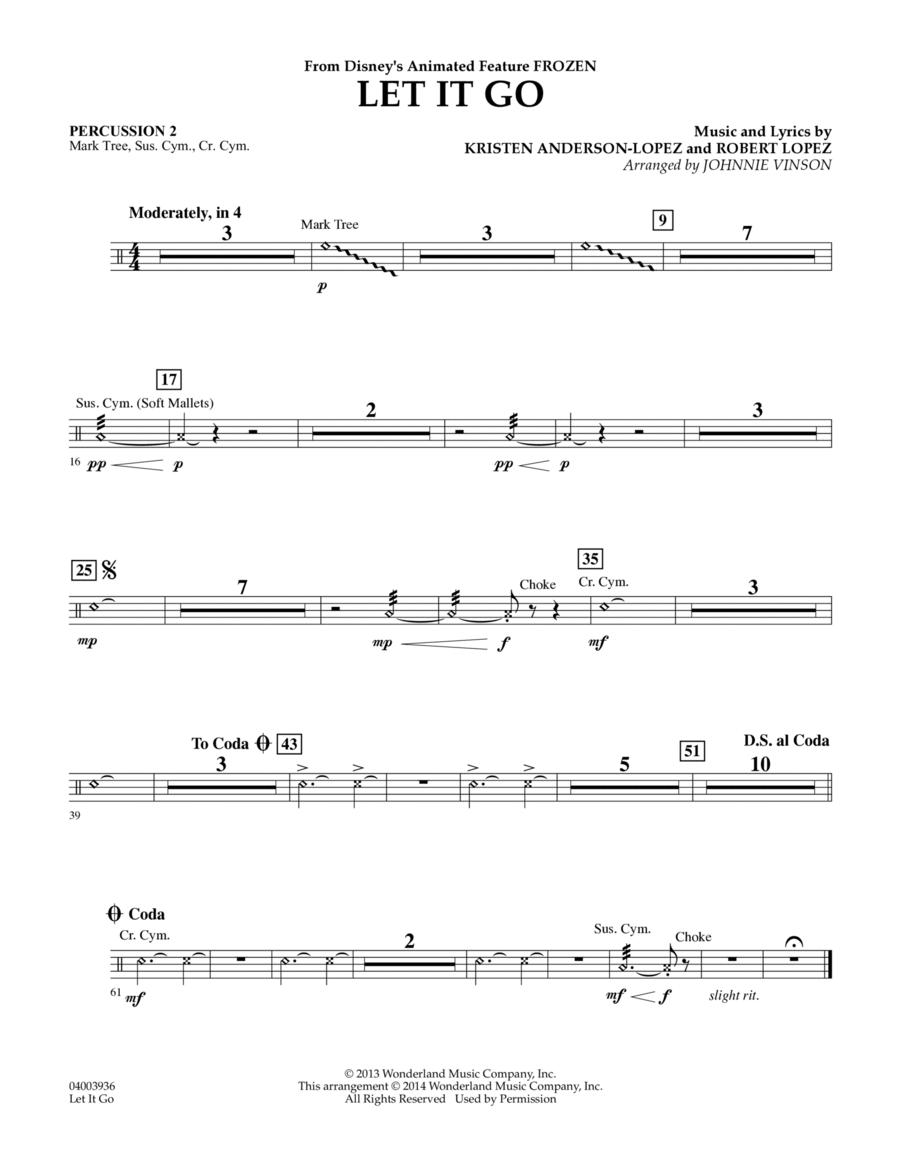 Let It Go - Percussion 2