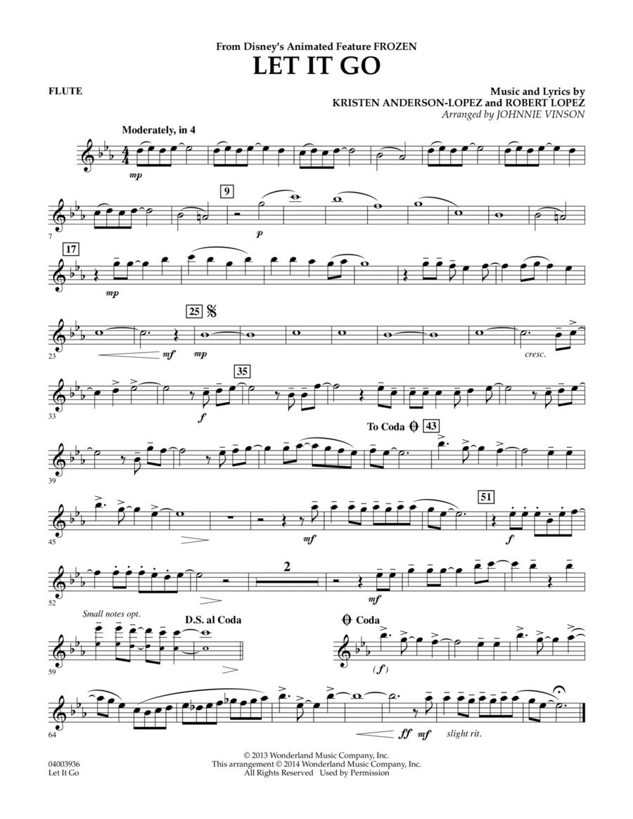 Let It Go - Flute