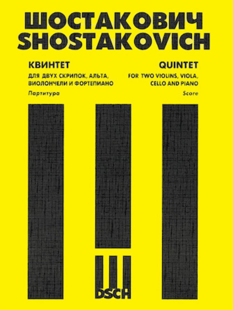 Piano Quintet, Op. 57 Score & Parts