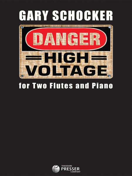 High Voltage Keyboard : Danger high voltage sheet music by gary schocker