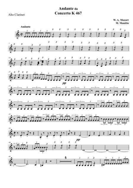 Andante from Piano Concerto K.467