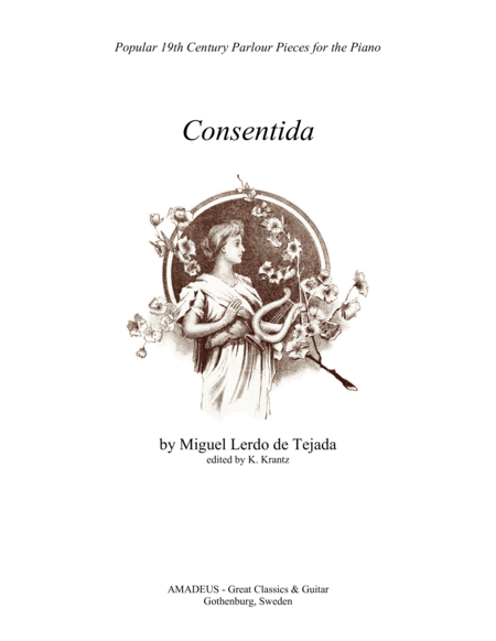 Consentida - Mexican Waltz for piano solo