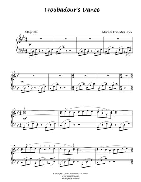 Troubadour's Dance