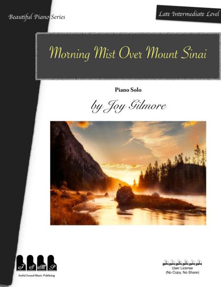 Morning Mist Over Mount Sinai