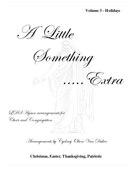 A Little Something Extra Volume 3 Holidays