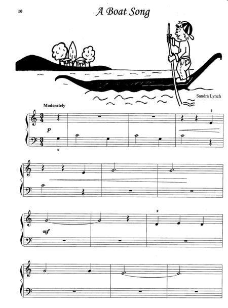 A Boat Song (with Teacher's Accompaniment)